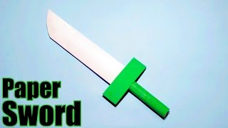 How to make a Paper Sword - Easy