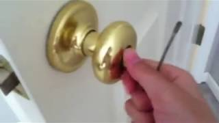 How to unlock room doors