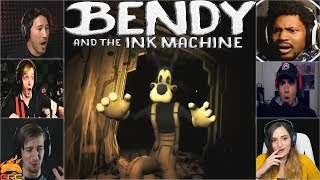 Gamers Reactions to Boris Being Taken Away by Alice (Ending) | Bendy and The Ink Machine - Chapter 3