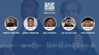 UNDISPUTED Audio Podcast (4.29.19) with Skip Bayless, Shannon Sharpe & Jenny Taft | UNDISPUTED