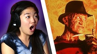 Teen Girls Watch Classic Horror Movies For The First Time