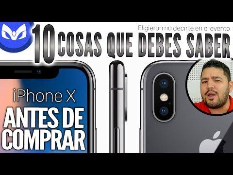 iPhone X 10 COSAS QUE APPLE NO TE DIJO Y NO SABES