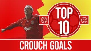 Top 10: Peter Crouch goals | Scissor kicks, top bins and towering headers