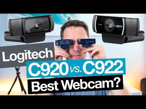 Best Webcam Logitech C922 vs C920