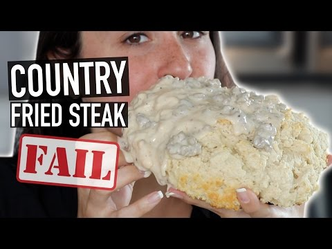 GIANT BISCUIT AND GRAVY WORST FAIL EVER