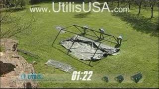 Utilis USA Military Tent Timed Set-Up Video
