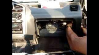 طريقة تغيير فلتر تكييف دايو لانوس change Air filters conditioning Daewoo Lanos