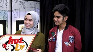 Amyra Othman & Irfan Haris - Hot TV Di TV9