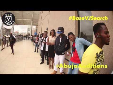 MTV Base VJ Search - Lip Sync battle in Abuja