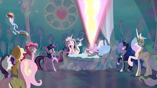 The Mane 6 Meet Flurry Heart - My Little Pony: Friendship Is Magic - Season 6