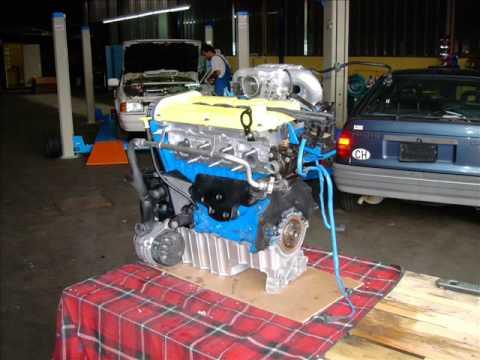 Fiesta XR2i 1.8 16V MK3 Zetec motor By Benny
