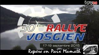 Rallye Vosgien 2015 - RIP Mamath