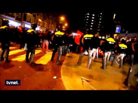 hollanda polisi türk vatandaşa saldırdı