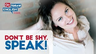 Don't be Shy! How to Start a Conversation with Anyone in English