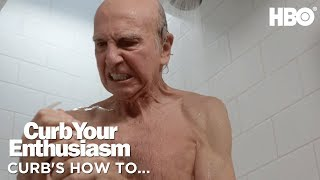 How To Open a Soap Dispenser w/ Larry | Curb Your Enthusiasm (2017) | Season 9