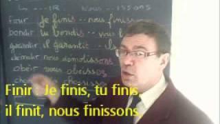 Présent simple français : auxiliaires, semi-auxiliaires et groupes