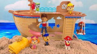 Best Learning Colors Video for Children Paw Patrol Ship Hidden Treasure | Fizzy Fun Toys