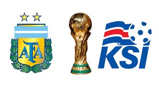 FIFA 18 - ARGENTINA VS ICELAND WORLD CUP 2018