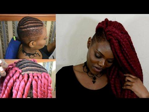 Flawless Havana Twist W Shaved Sides Crochet Braids Vidly Xyz