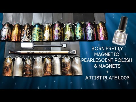 Xxx Mp4 Born Pretty Pearlescent Magnetic Polish Amp Artist Stamping Plate Review 3gp Sex