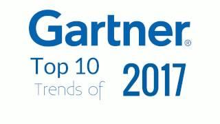 Gartner Top 10 Technology Trends 2017