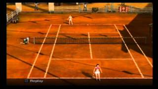 PS2 Tennis outlaw
