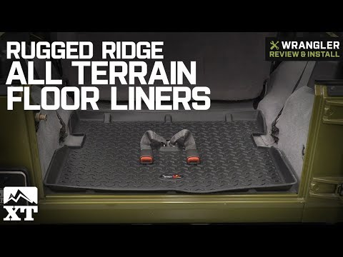 Xxx Mp4 Jeep Wrangler Rugged Ridge All Terrain Floor Liners 1997 2006 TJ Review Install 3gp Sex