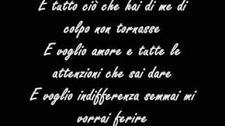 Tiziano Ferro - Ti scatterò una foto lyrics
