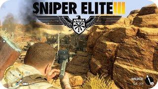 Sniper Elite 3 PC #01 - Missão 1 - Siege Of Tobruk (PT-BR)