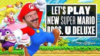 Let's Play New Super Mario Bros. U Deluxe - IT'S-A ME IAN-O!