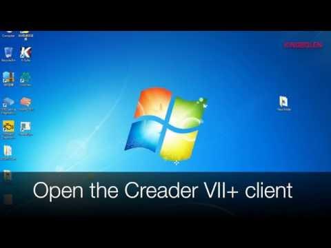 LAUNCH CREADER VII+ quick start guide, register, download software, update software