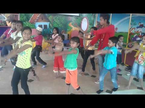 Raja Jadhav Kukshi school Dance7.5.2016