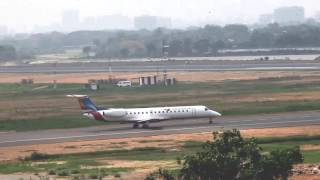 S2-AGJ Embraer ERJ-145 NovoAir Taxiing And Take Off