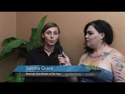 Sienna Grace Wins Shemale Yum Model of The Year Award