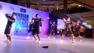Indian HipHop Championship-2015 | Creative Edge Dance Crew | Rank-8 | Mumbai