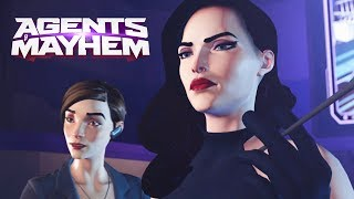 Agents of Mayhem All Cutscenes Movie (Game Movie) - Main Missions