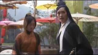Xiaolongnü Fights Li Mochou, from Return of the Condor Heroes 2006 ep07, Crystal Liu Yifei, 刘亦菲