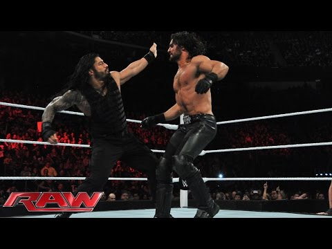 Xxx Mp4 Roman Reigns Vs Seth Rollins Raw March 2 2015 3gp Sex