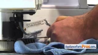Refrigerator Hinge Cam Riser (part #DA66-00268A) - How To Replace