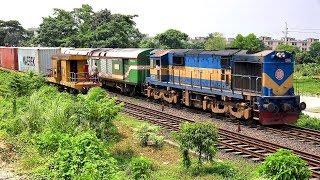 Crossing Between Freight Train & Silk City Express Train: Bangladesh Railway