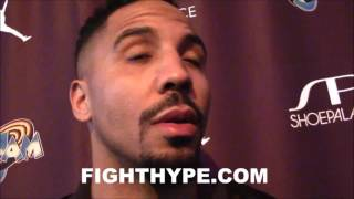 ANDRE WARD EXPLAINS WHY KOVALEV WIN IS FAVORITE FIGHT; DESCRIBES KOVALEV'S POWER AS DISAPPOINTING