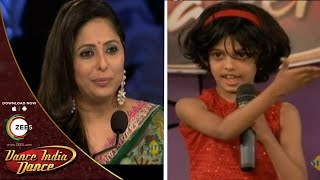 Shreya Acharya AUDITION With FULL Masti - DID L'il Masters