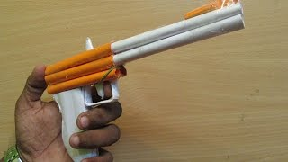 How to Make a Paper Semi Automatic Handguns Models - Easy Tutorials