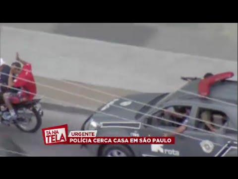Tá na Tela Perseguição da Rota ao vivo em São Paulo 20 11 2014