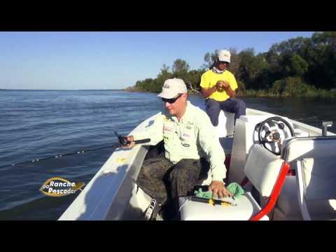 Pesca na Argentina fisgando Piaparas e Piracanjubas
