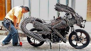 10 WEIRDEST MOTORCYCLES IN THE WORLD
