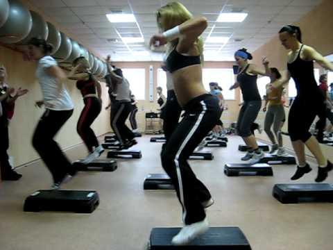 Step aerobics.avi