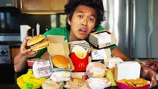 I Try Everything On The Mcdonalds Menu!