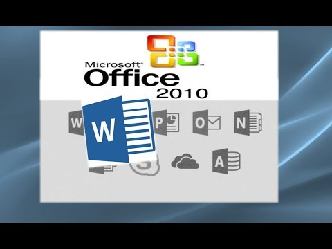 Word 2010 Tutorial A Comprehensive Guide to Microsoft Word