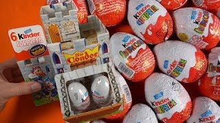 Classical Retro Toys (from 1996) Old School - Kinder Surprise Eggs  (Kinder Überraschung)